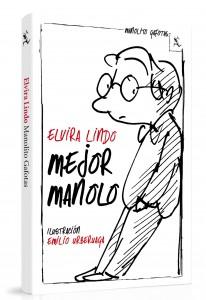 """Portada del libro """"Mejor Manolo"""" de Elvira Lindo"""